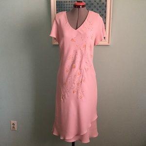 S. L. Fashions- pink dress